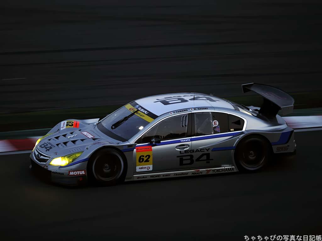 GT300 #62 R&D SPORT LEGACY B4