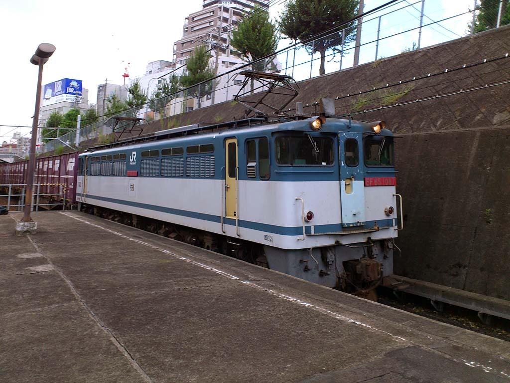 EF65 1087号