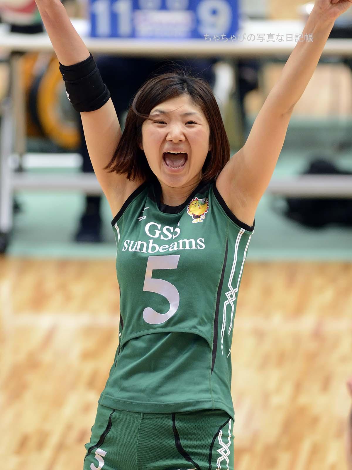 松山美華選手