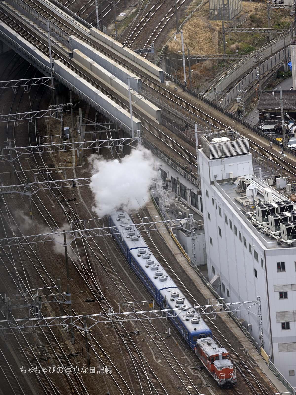 あおなみ線蒸気機関車実験走行