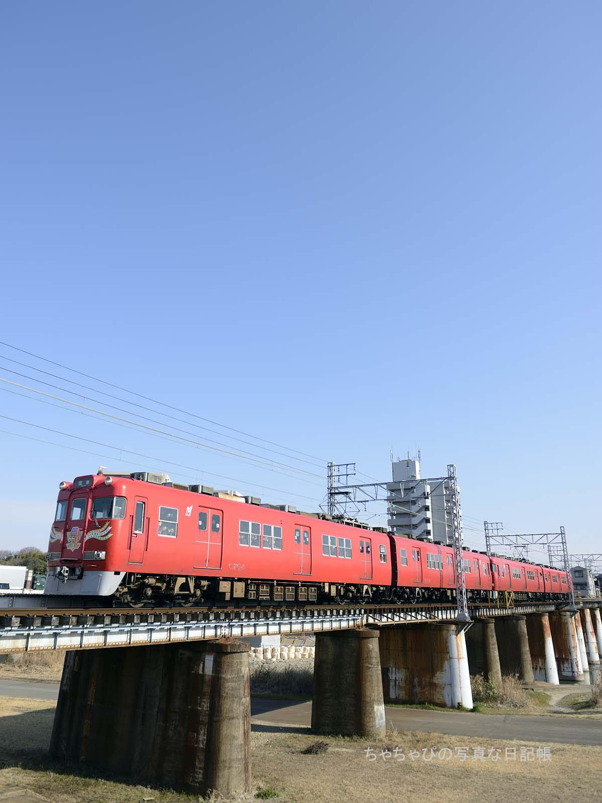 名鉄瀬戸線6600系さよなら運転