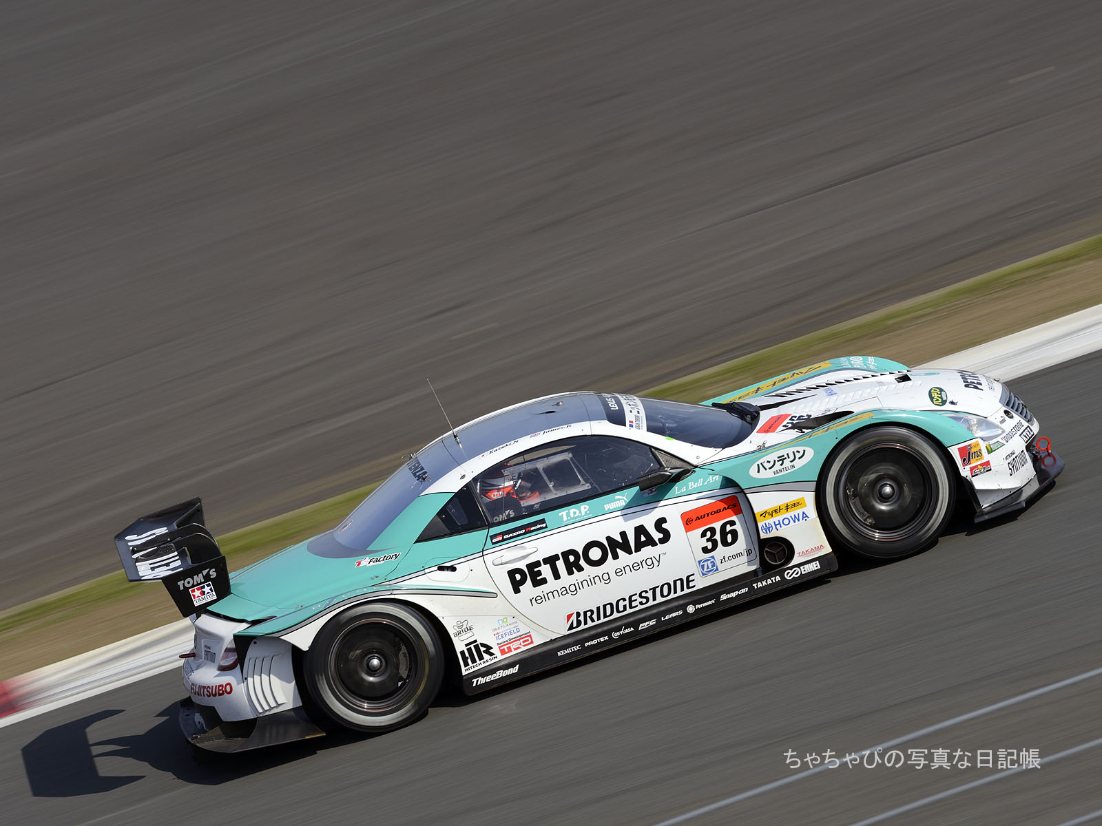 GT500 36号車 PETRONAS TOM'S SC430