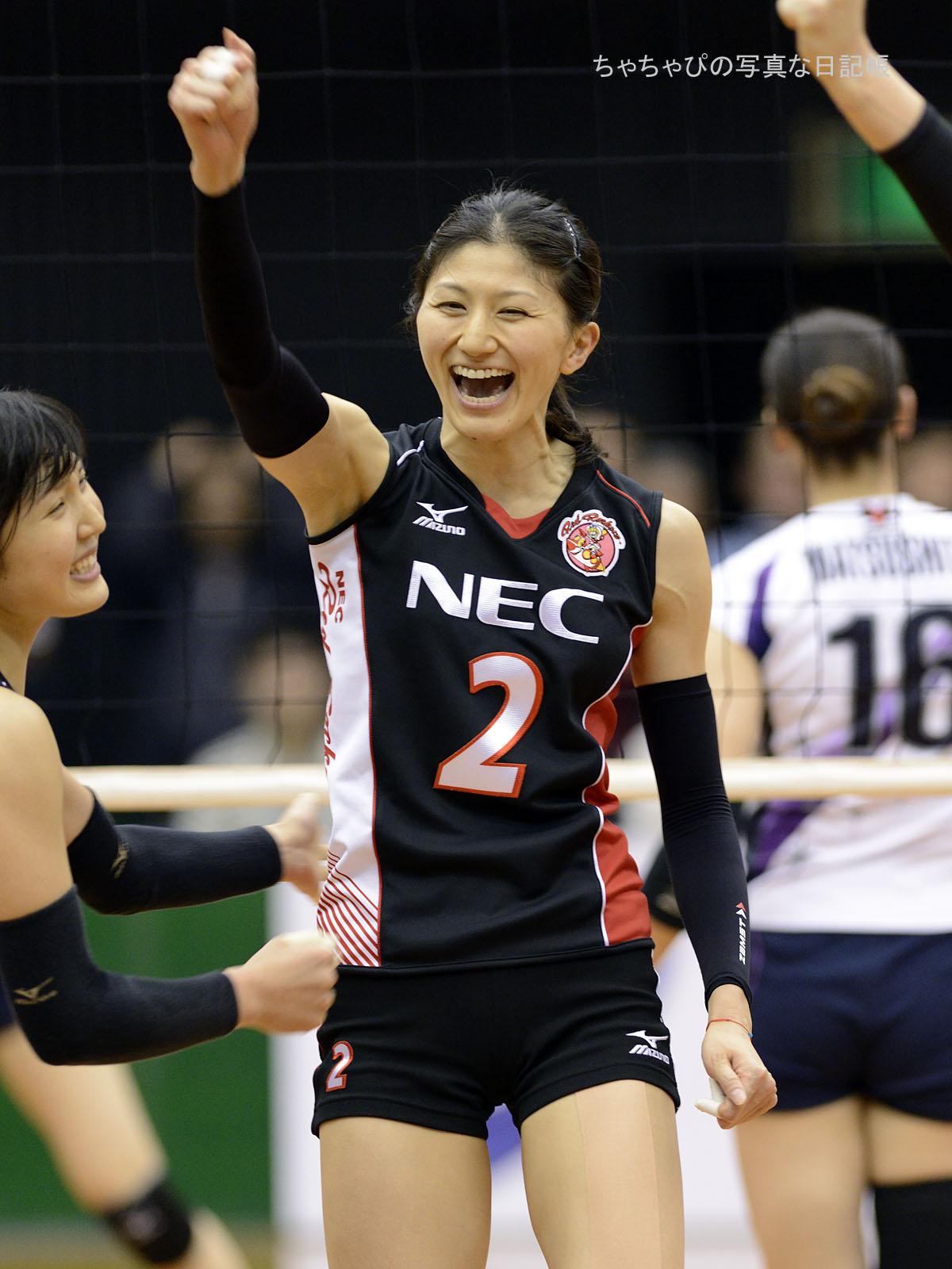 NECレッドロケッツ 杉山祥子選手
