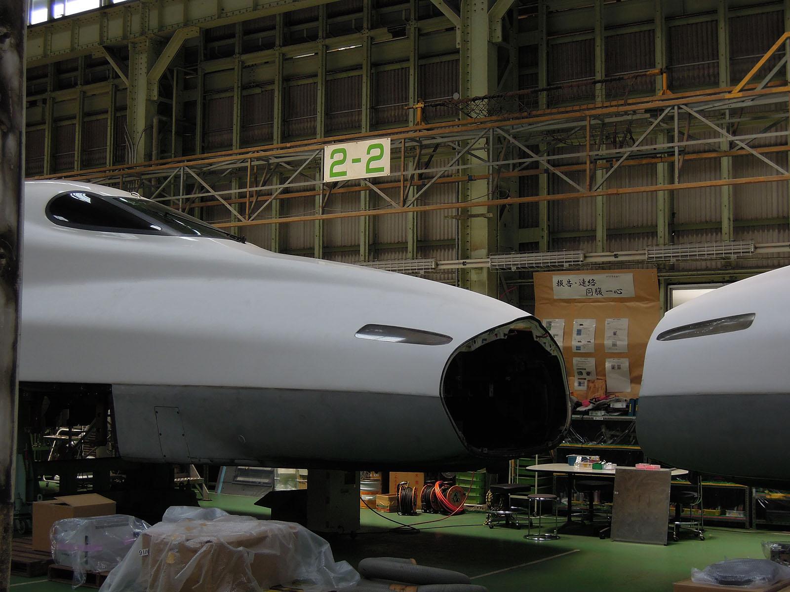 N700系0番台 Z7編成から N700系2000番台 X7編成への改造