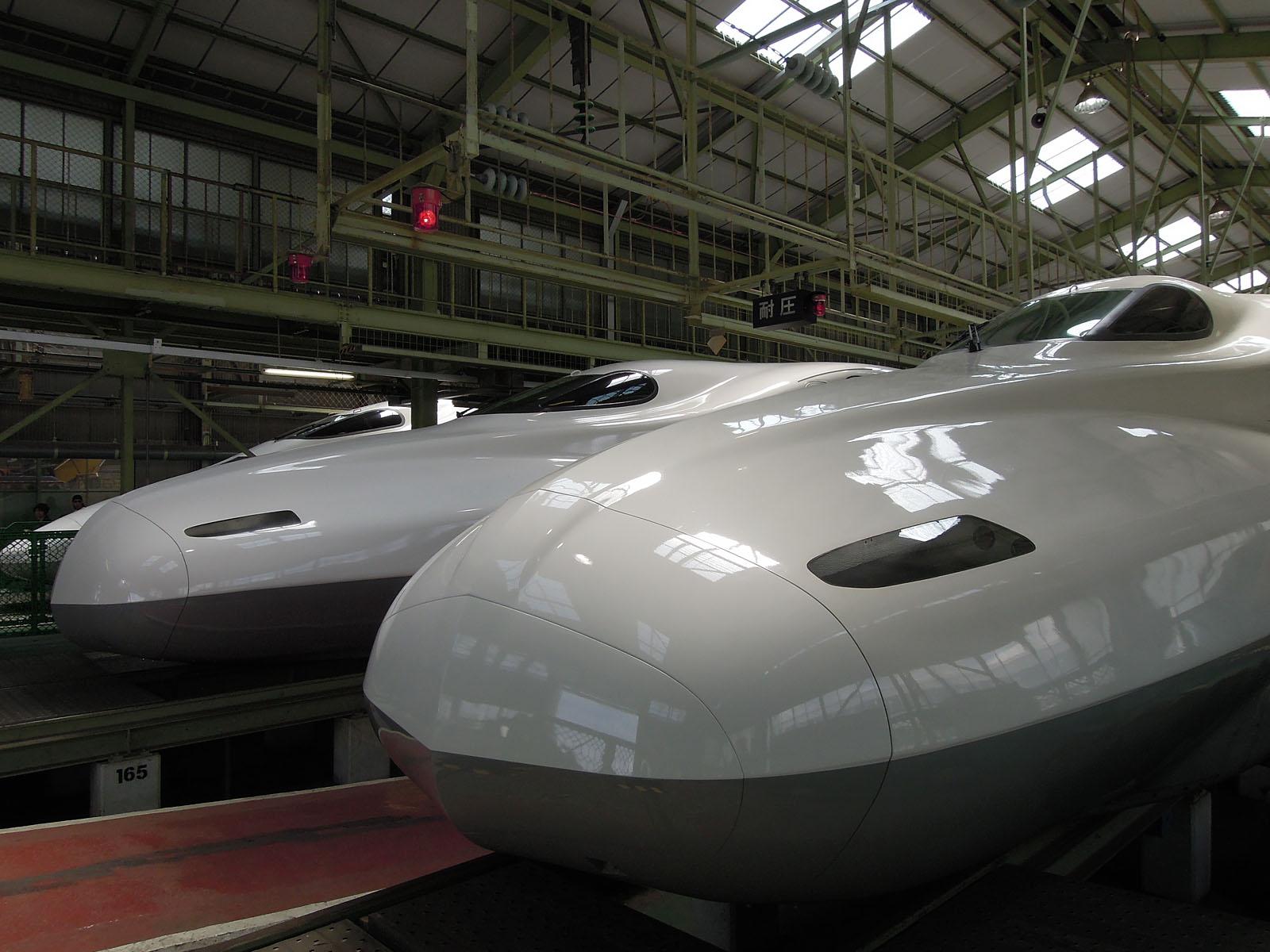 N700系1000番台 G1編成 と N700系2000番台 X36編成
