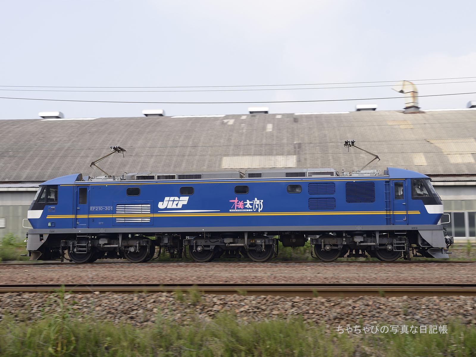 単587レ、EF210-301 向洋駅~天神川駅