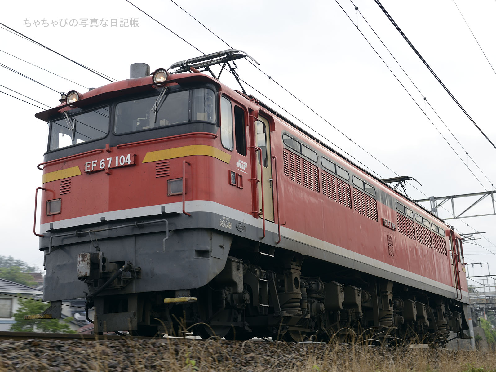 単573レ、EF67-104 西条駅~八本松駅