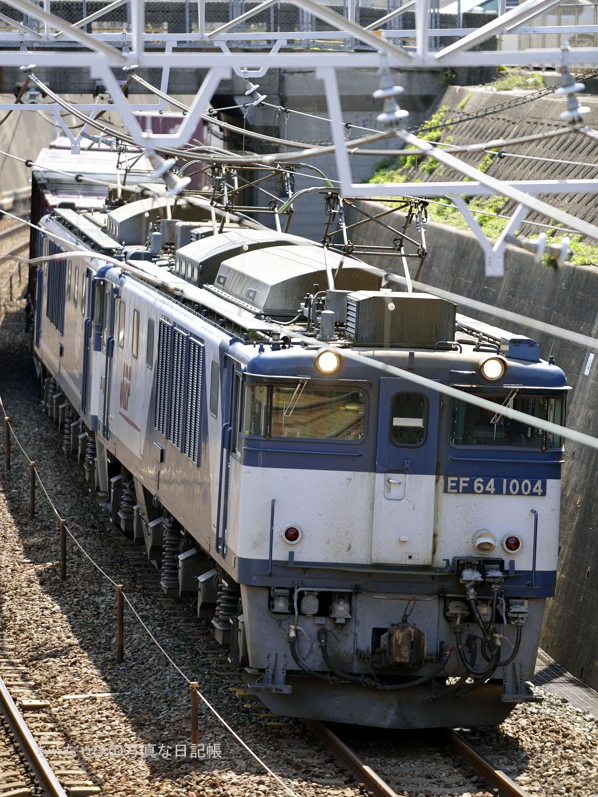 81レ、EF64-1004+EF64-1049
