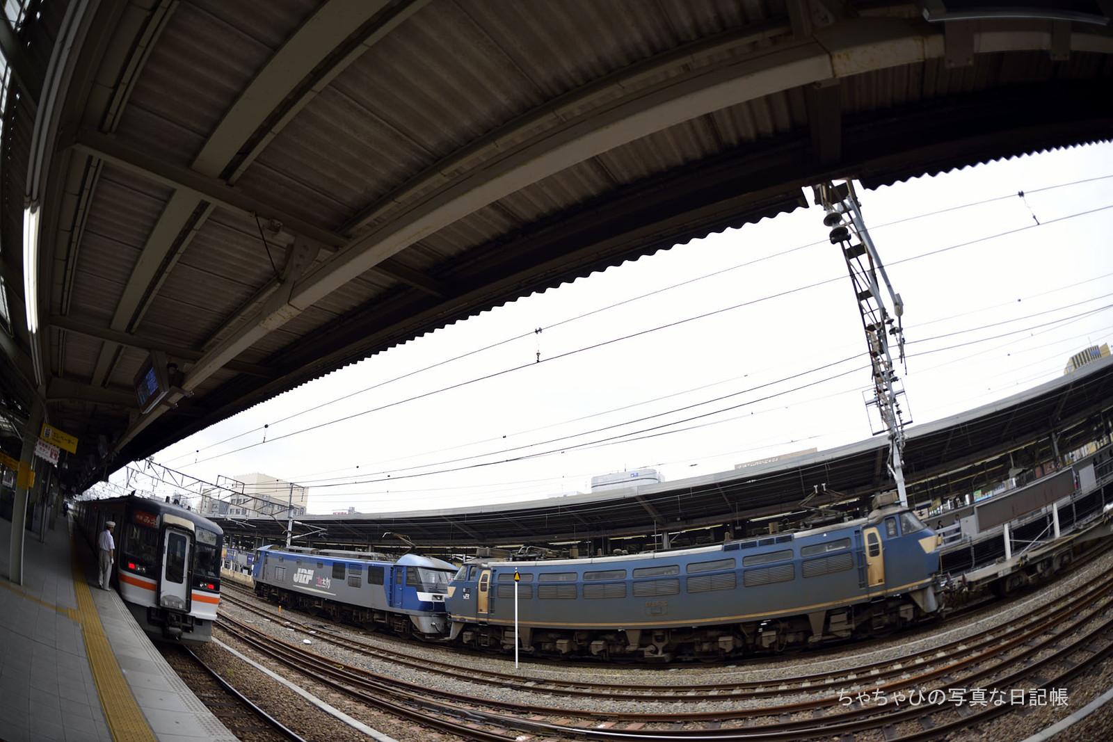 3091レ、EF210-158+EF66-36