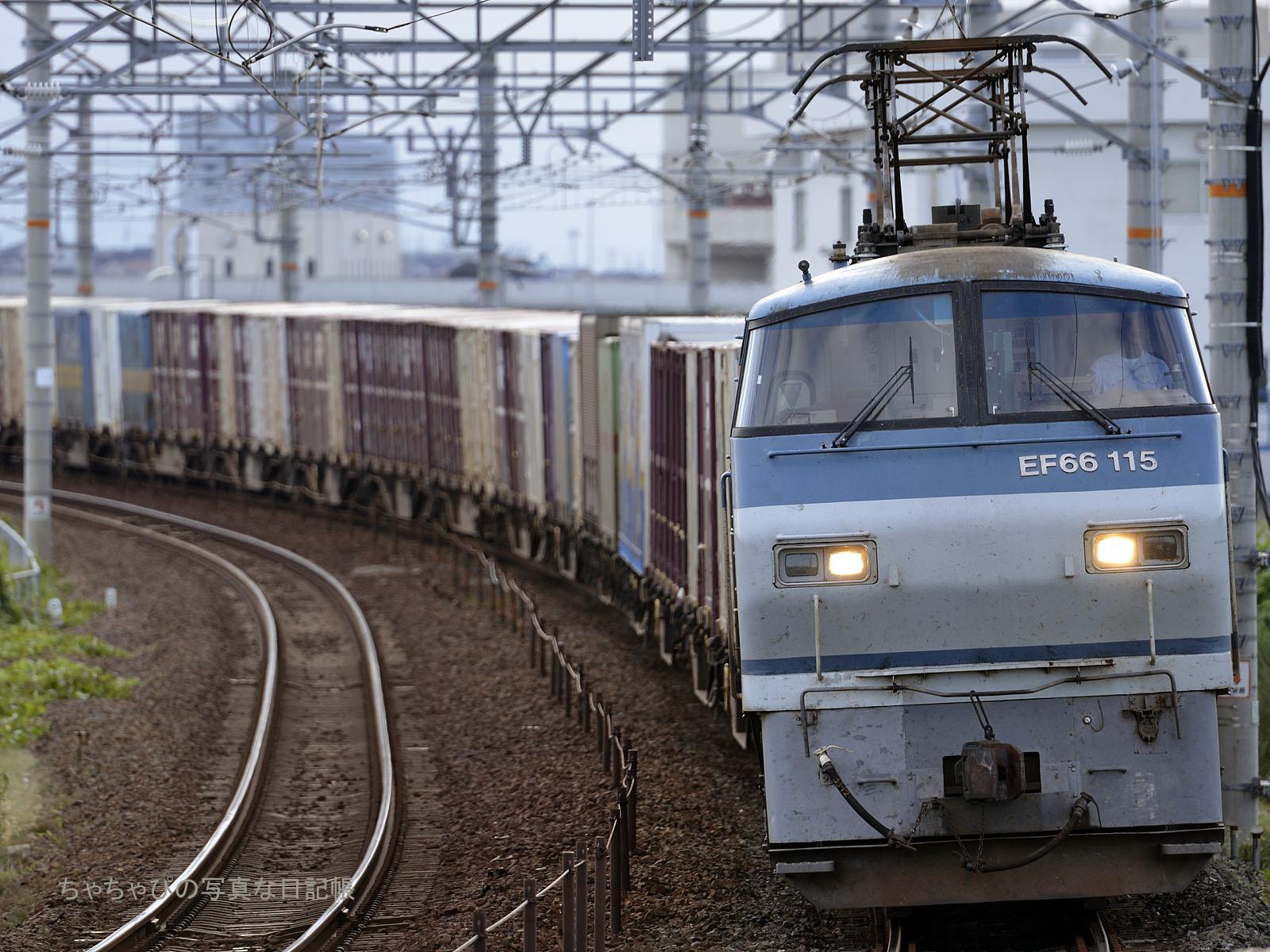5070レ EF66-115