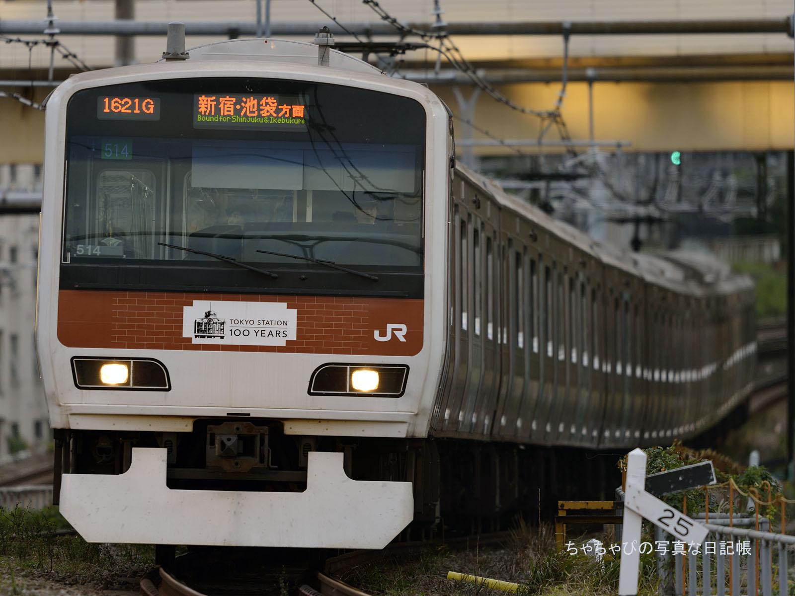 東京駅開業100周年 山手線ラッピングトレイン E231系