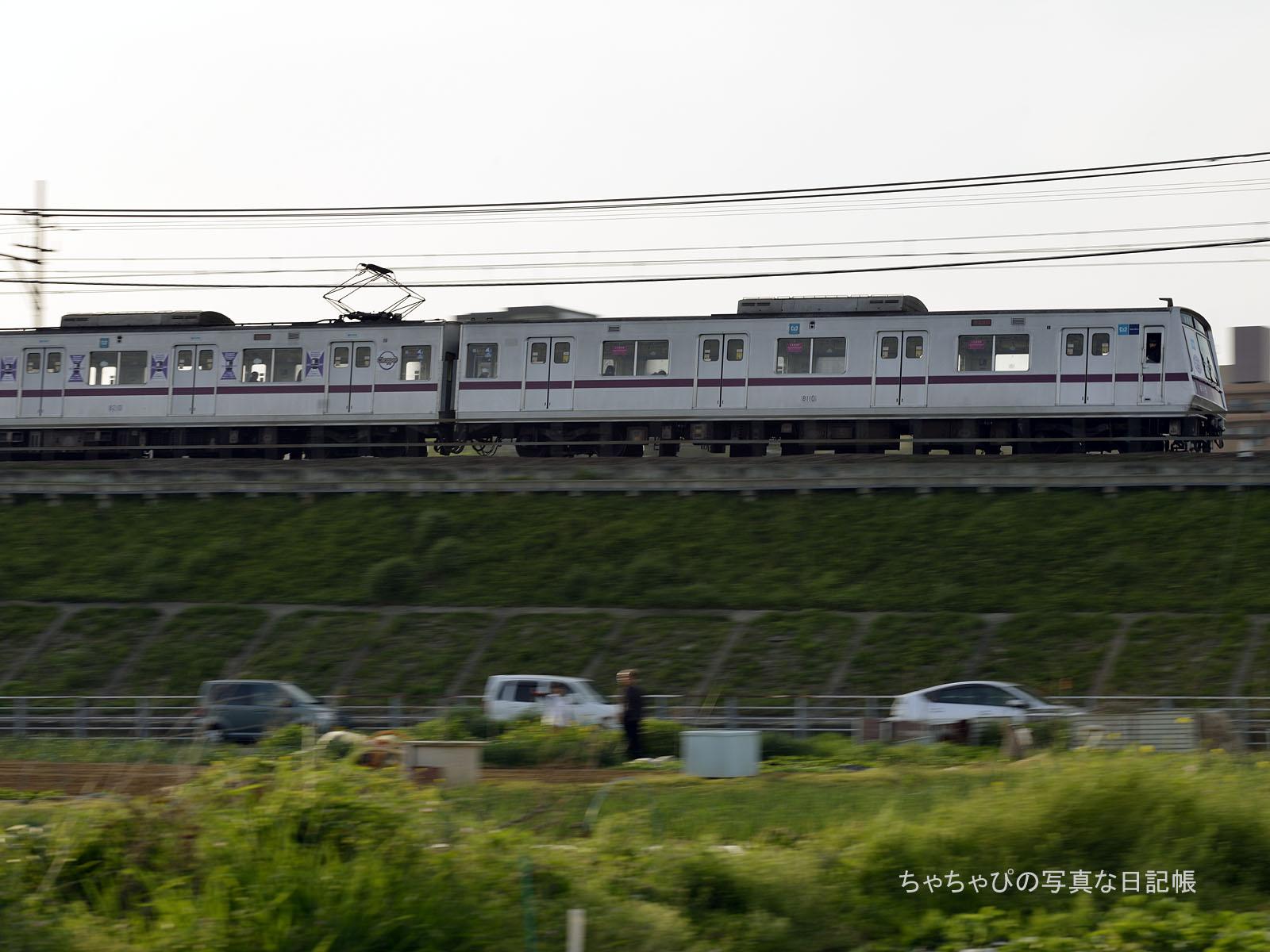 東京メトロ 8000系 10編成(8110F) ~さよなら!電機子チョッパ制御車~