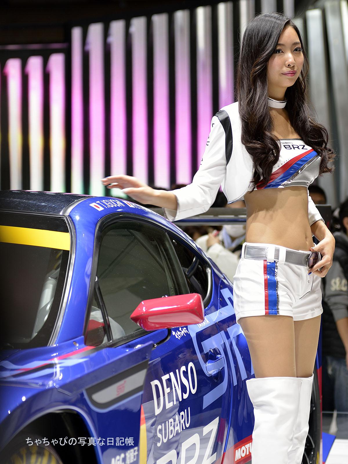 東京モーターショー2015 スバルブース BREEZE/南真琴さん