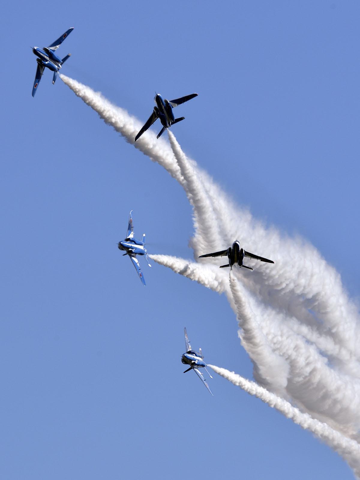 2015年入間基地航空祭ブルーインパルス