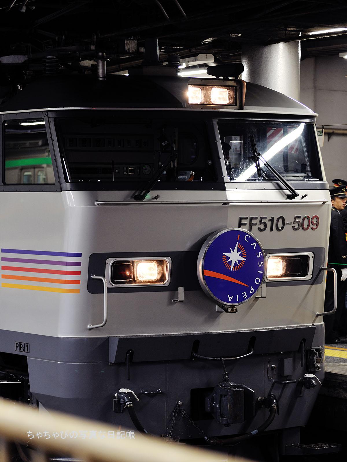 8009レ カシオペア EF510-509