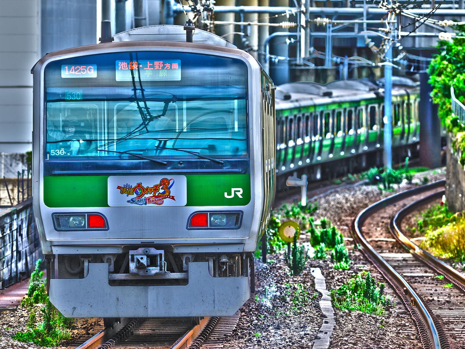 JR山手線 代々木駅 E231系500番台 530編成