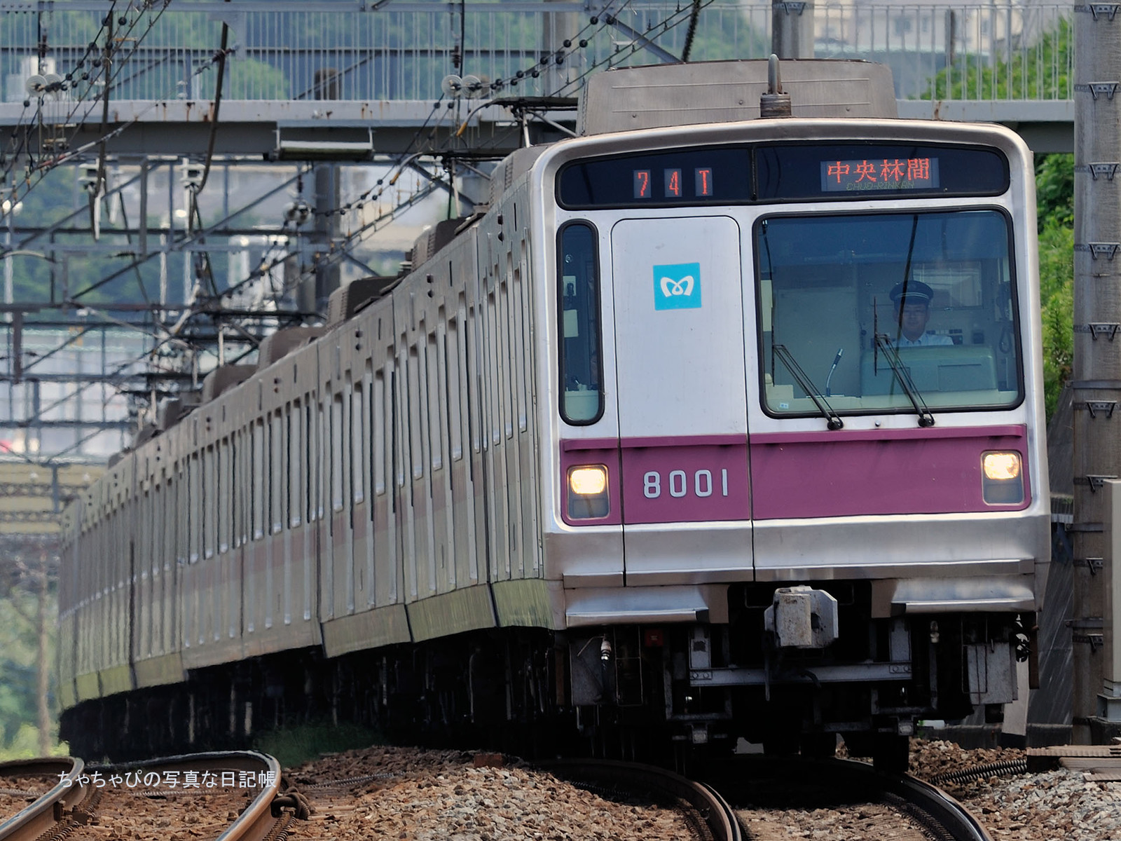 東京メトロ8000系 - 74ゥ 01編成-
