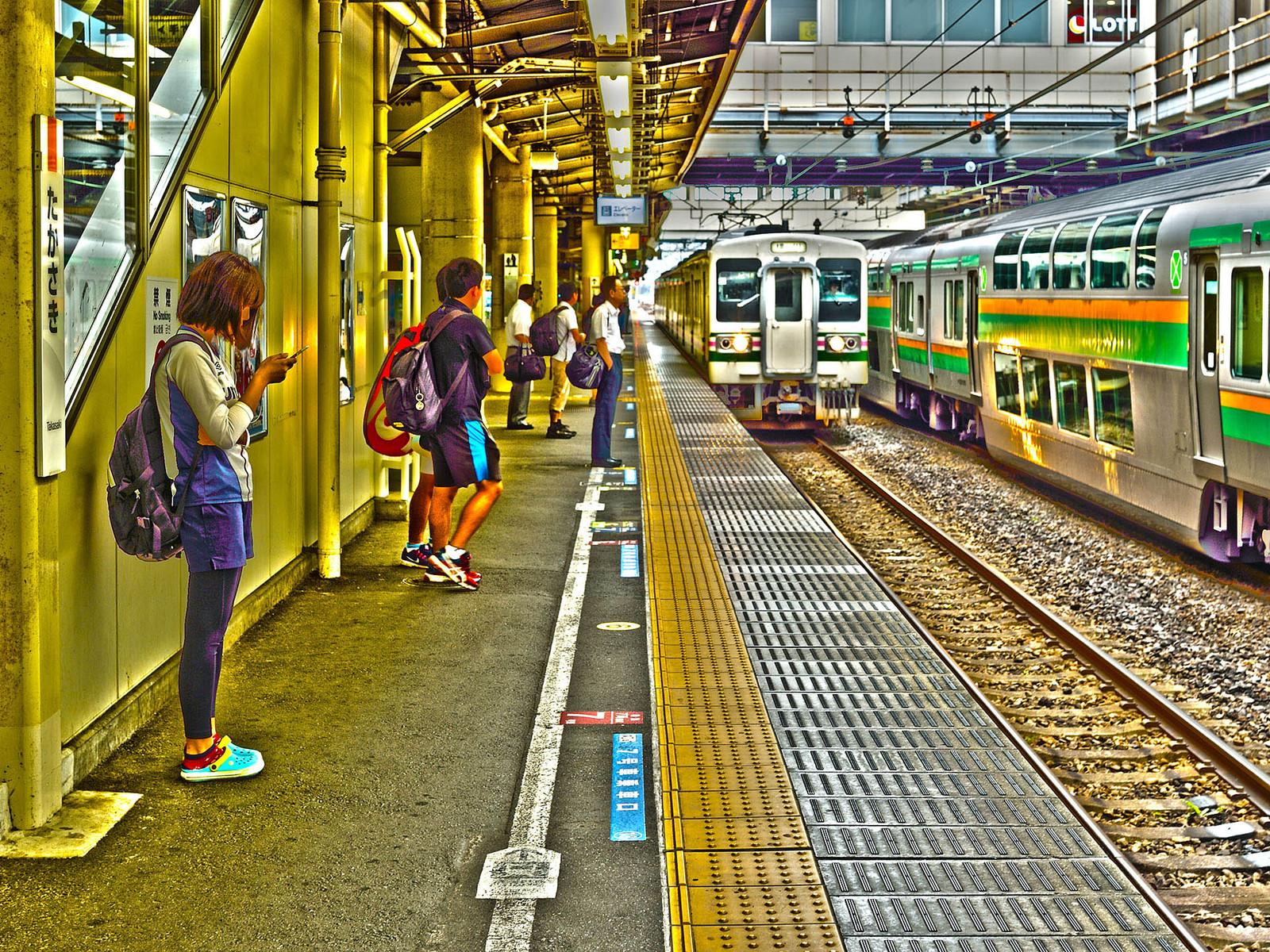 JR東日本 信越本線 高崎駅 107系100番台 R11編成
