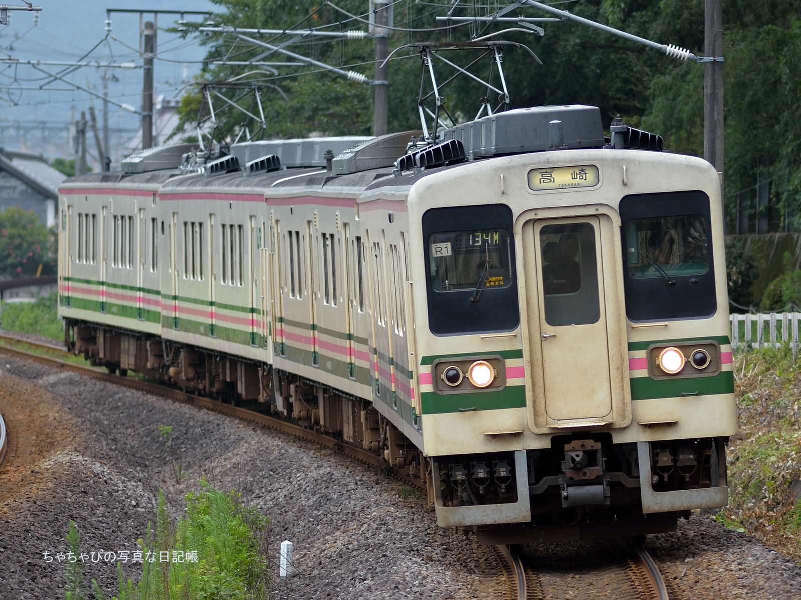 JR東日本 信越本線 西松井田駅~横川駅 107系100番台 -R1編成-