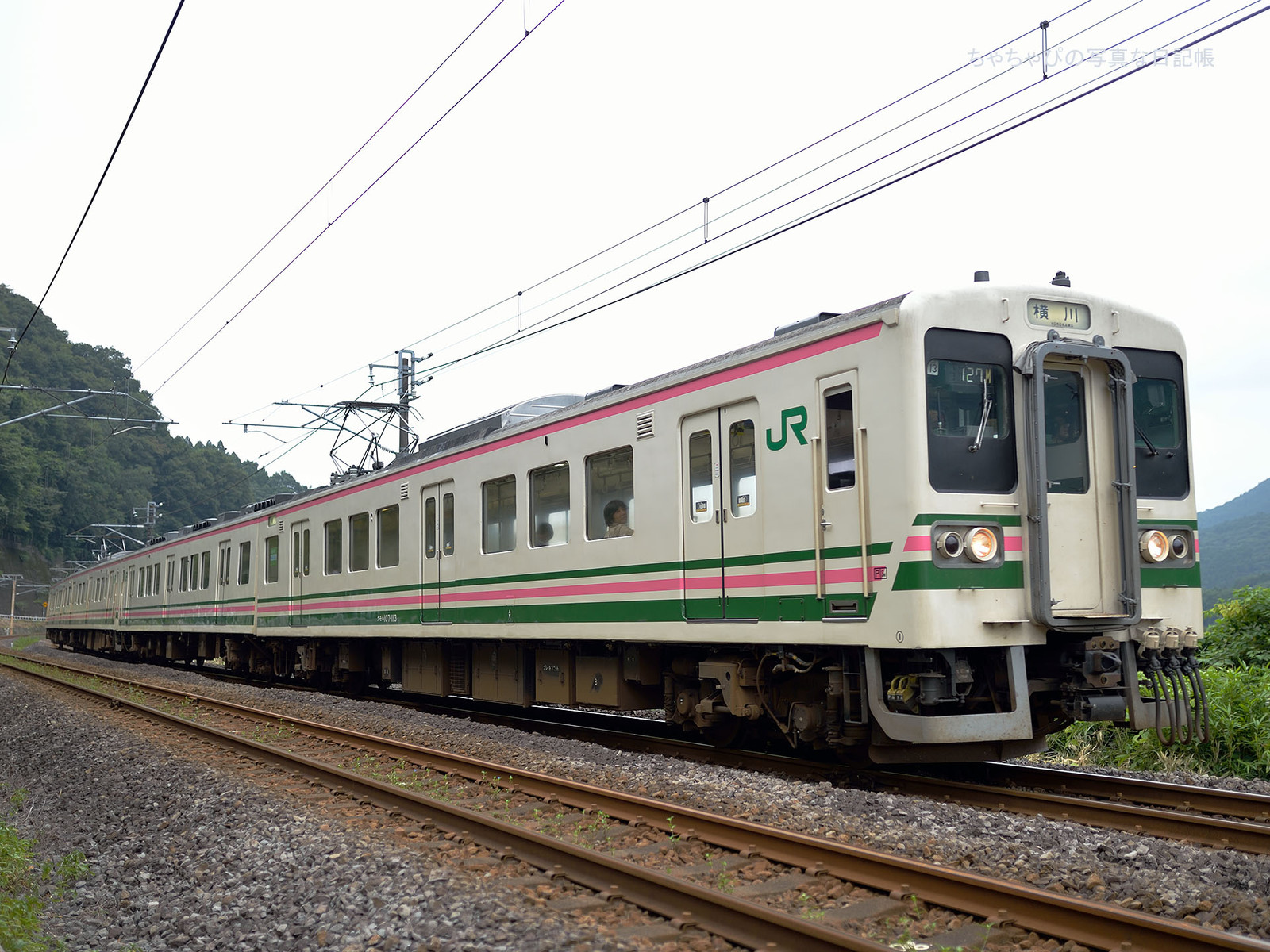 JR東日本 信越本線 西松井田駅~横川駅 107系100番台 -R13編成-