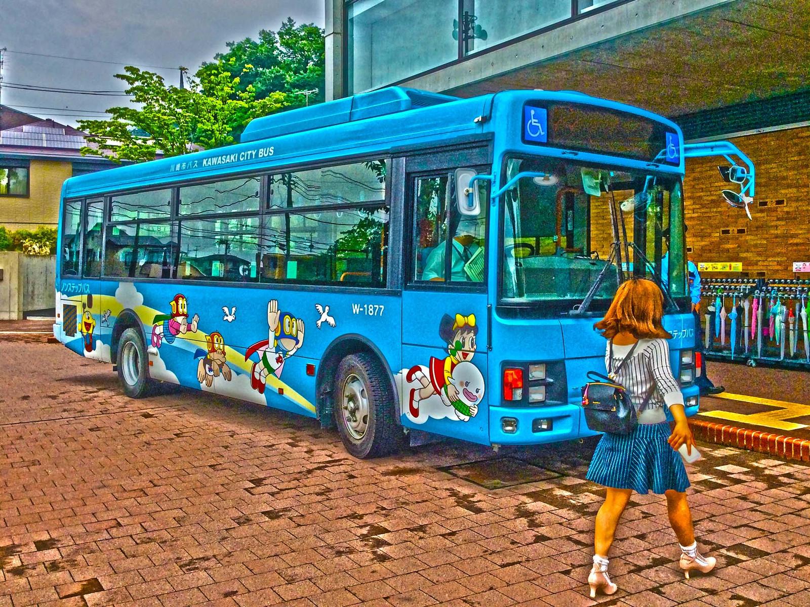 藤子・F・不二雄ミュージアム線 川崎市営バス
